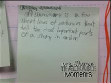 Mrs. Thomas' Teachable Moments