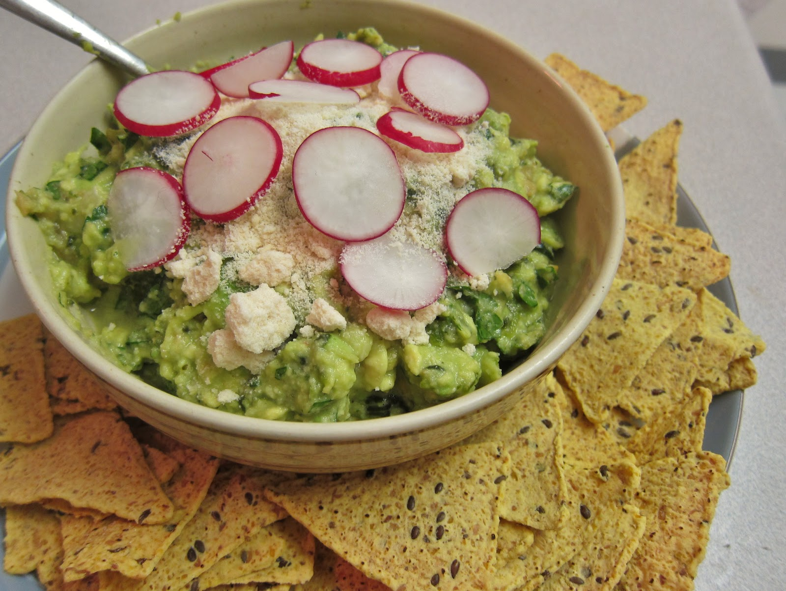 The Vegan Chronicle: Roasted-Poblano Guacamole with Garlic and Parsley