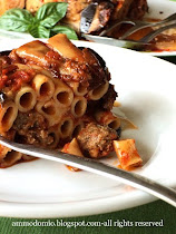Pasta al forno con le Melanzane