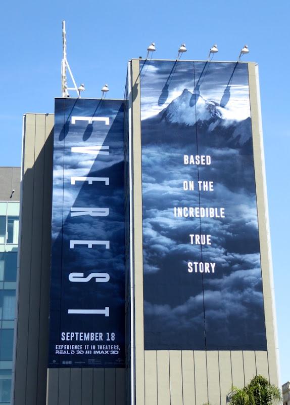 Giant Everest film billboard