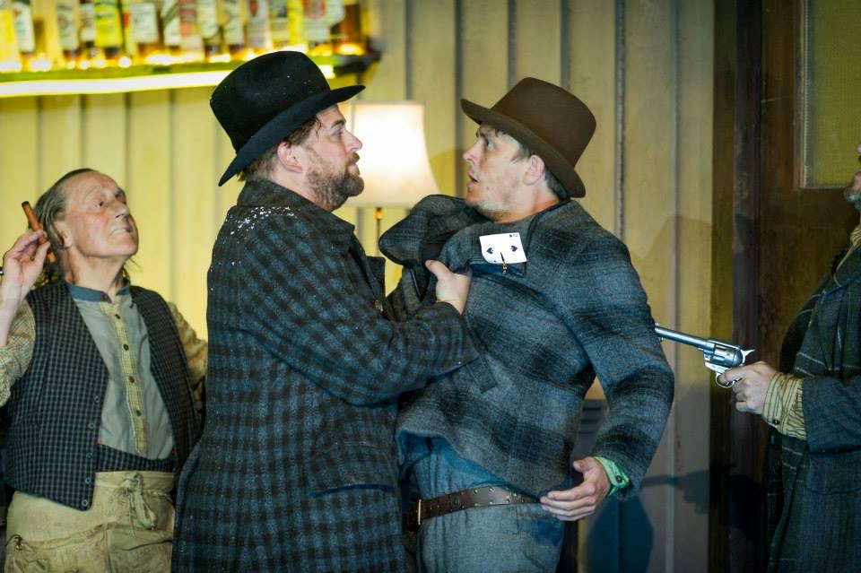 Graham Clark, Craig Colclough and Jonathan McGovern in The Girl of the Golden West - © Robert Workman