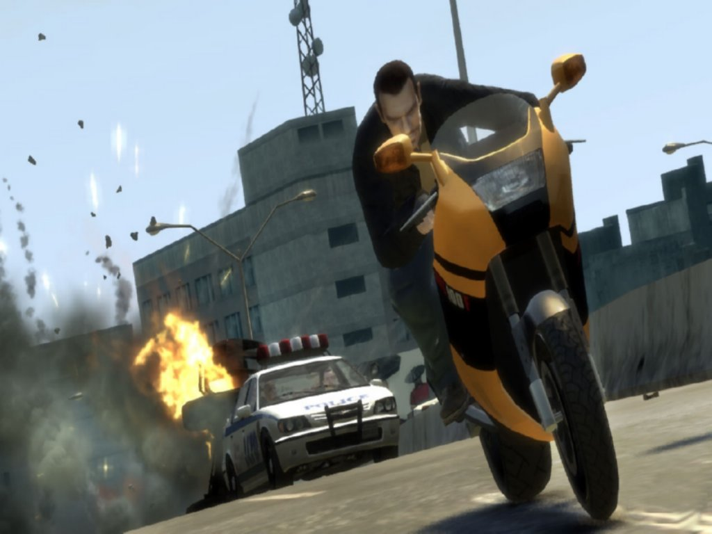 Grand Theft Auto iv Game ScreenShot