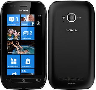 berikut ini adalah Spesifikasi dan Harga Nokia Lumia 710