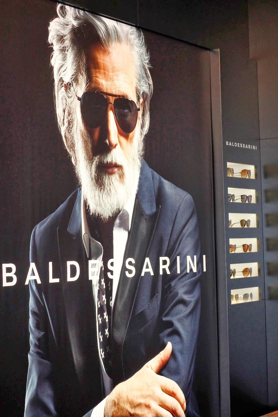 baldessarini, campagna pubblicitaria, occhiali per lui