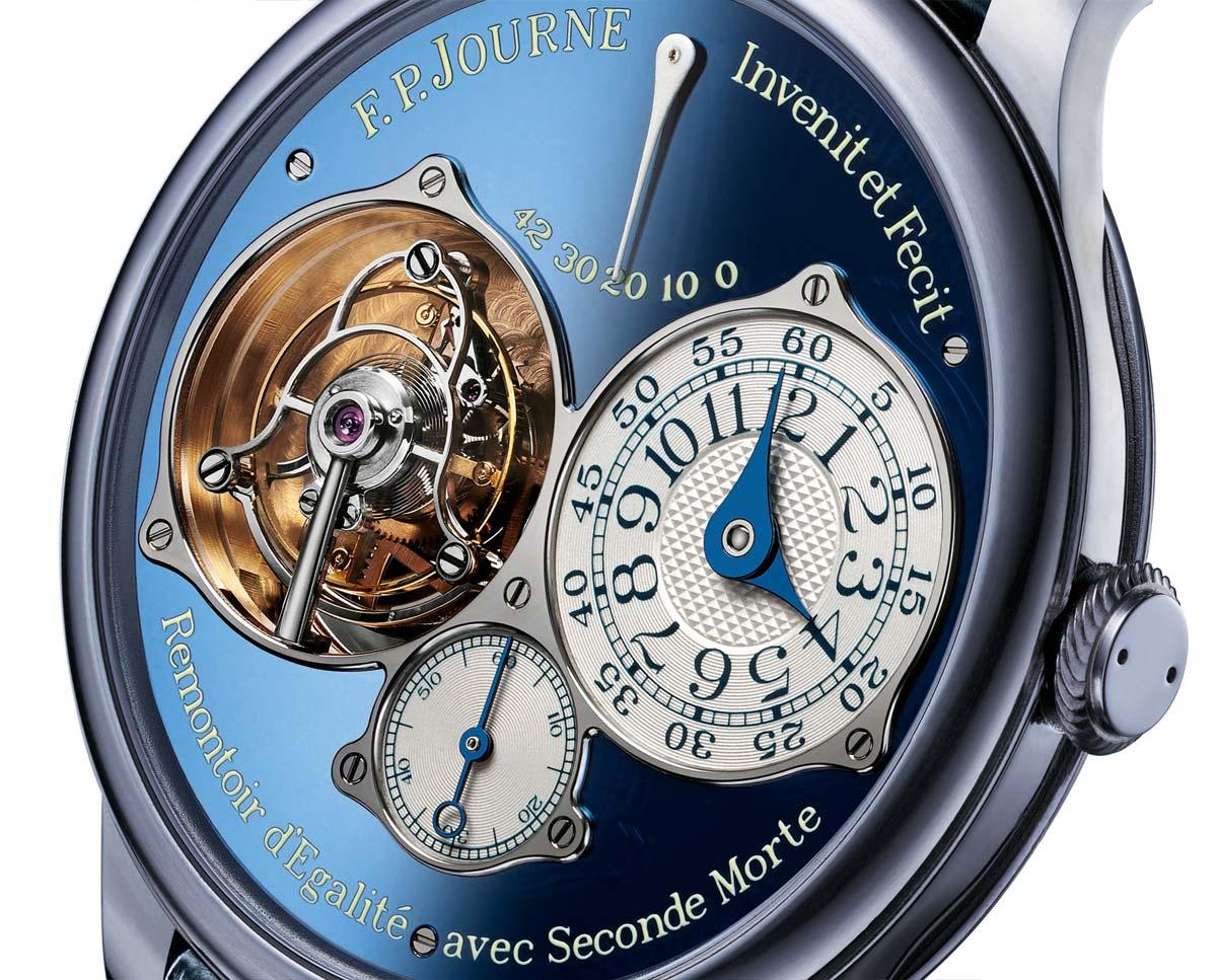 Tourbillon Souverain Bleu for Only Watch 2015