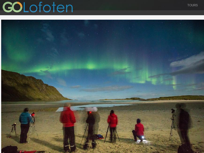 Tour Auroras Boreales Lofoten