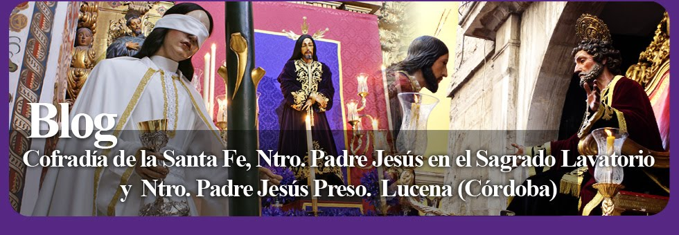 Blog Oficial Cofradía de la Santa Fe · Lucena (Córdoba)