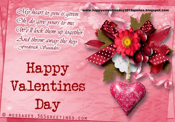 Happy Valentines Day 2015 Quotes Greetings Cards Messages – Valentines Cards 2015
