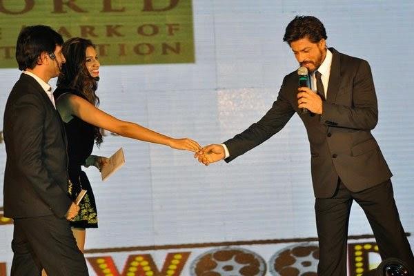 Bollywood Shahrukh Khan presented at the Gitanjali Bollywood Night