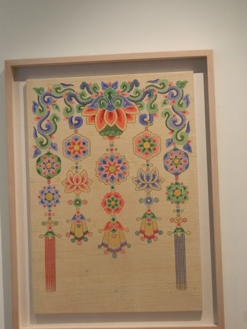 Patterns used in Buddhist symbols Min hwa