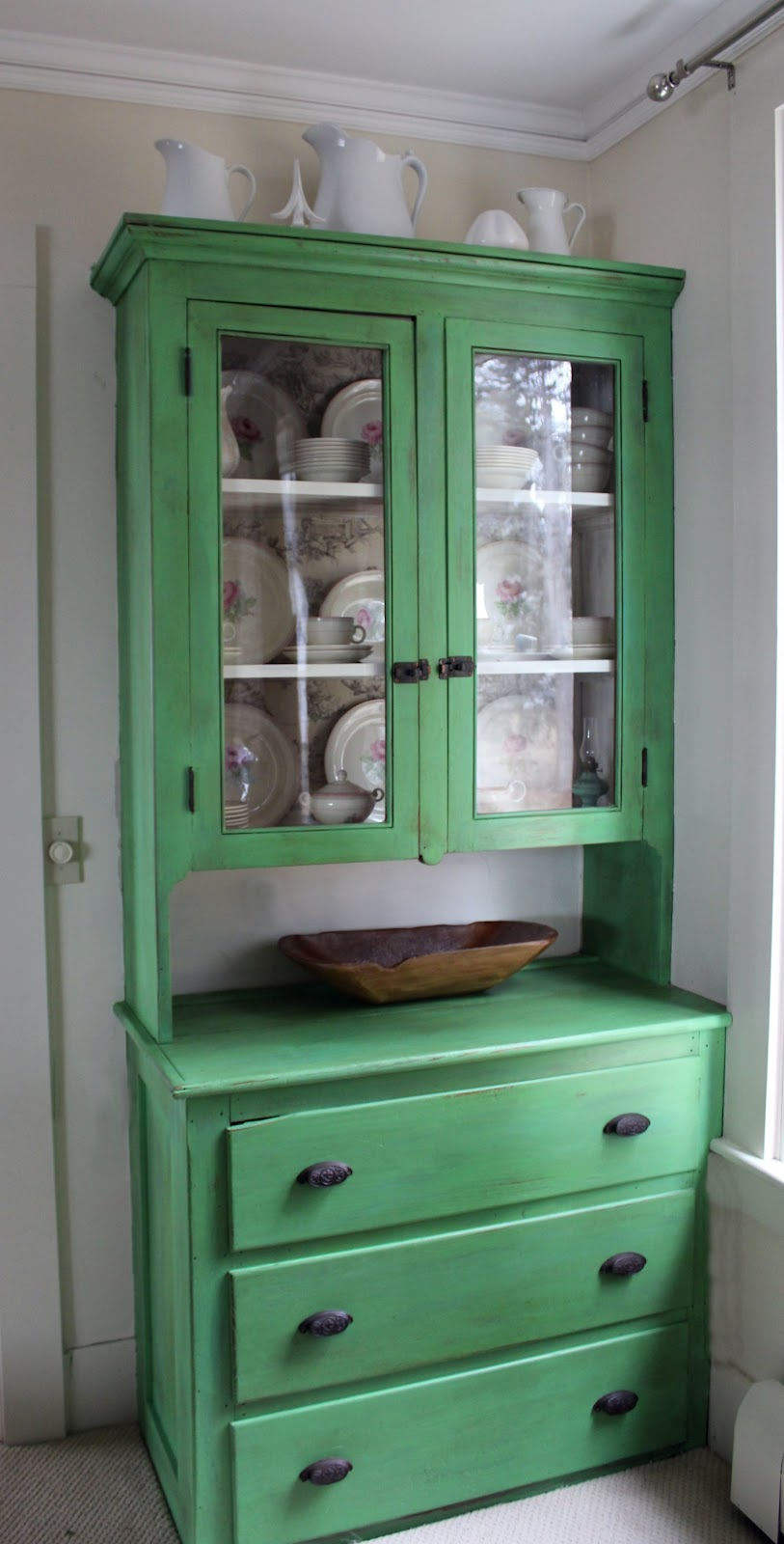 Green Painted Furniture Awesome Of Annie Sloan Chalk Paint Hutch with Green Image