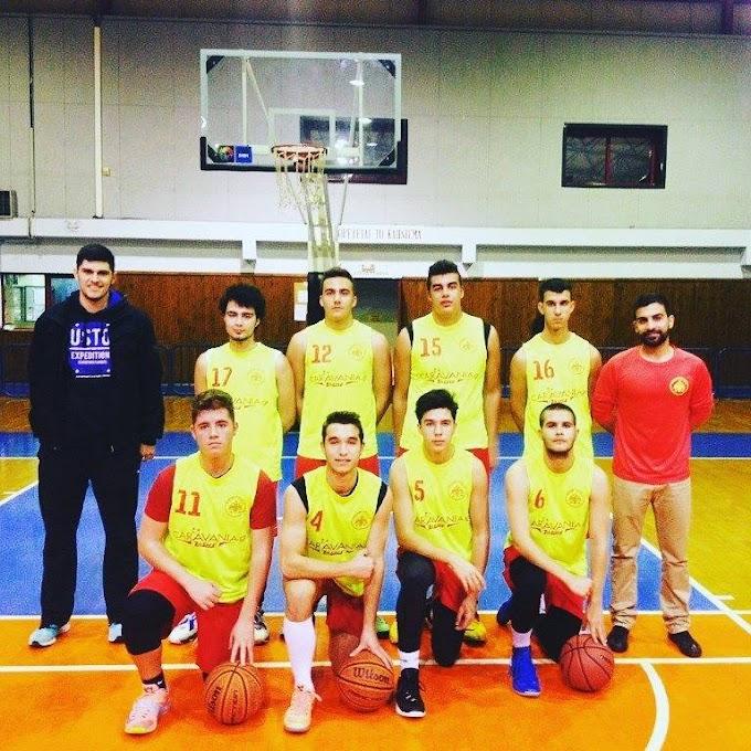 Παραμένουν πρώτοι στον όμιλό τους οι έφηβοι του Μαραθώνα-Νέα ήττα για το ανδρικό