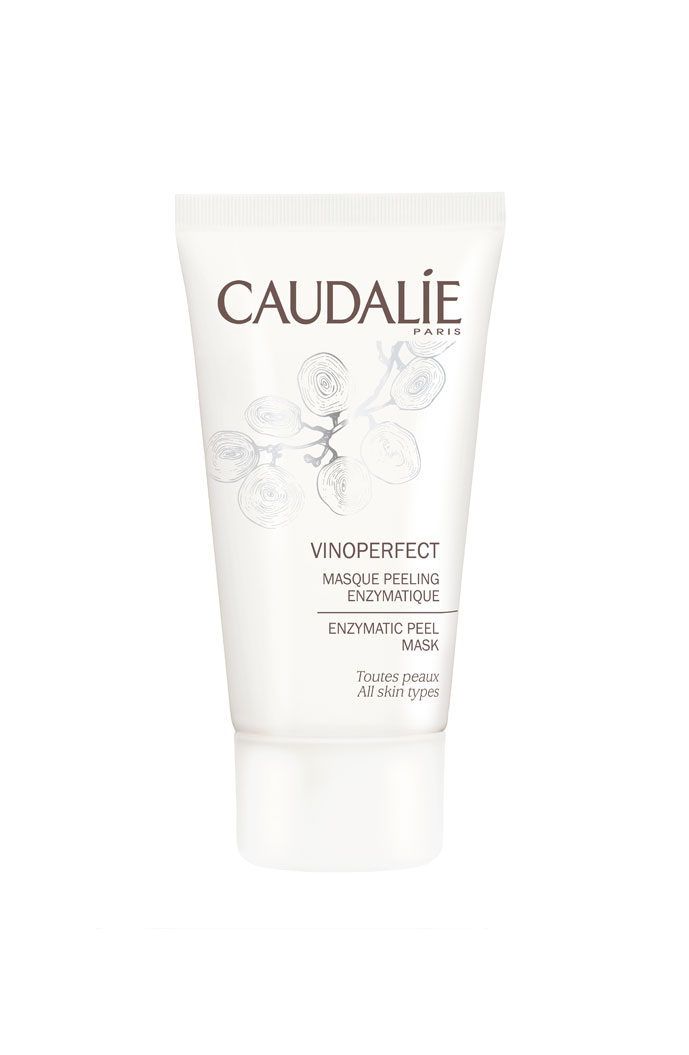 Caudalie Vinoperfect enzymatic peel mask