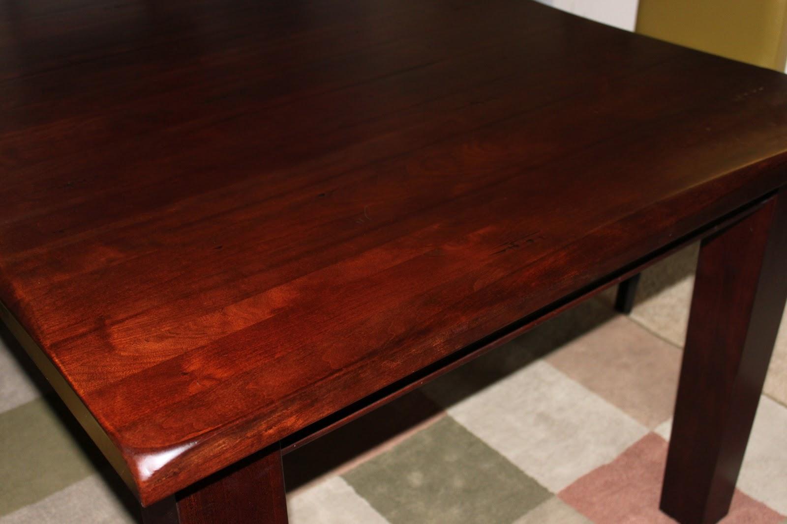 Can I Use Car Wax On Wood Table