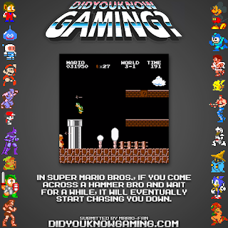 super mario hammer bros fact Random Game Facts   Super Mario Bros.s Hammer Bros.