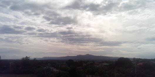 Beauty of a cloudy sky