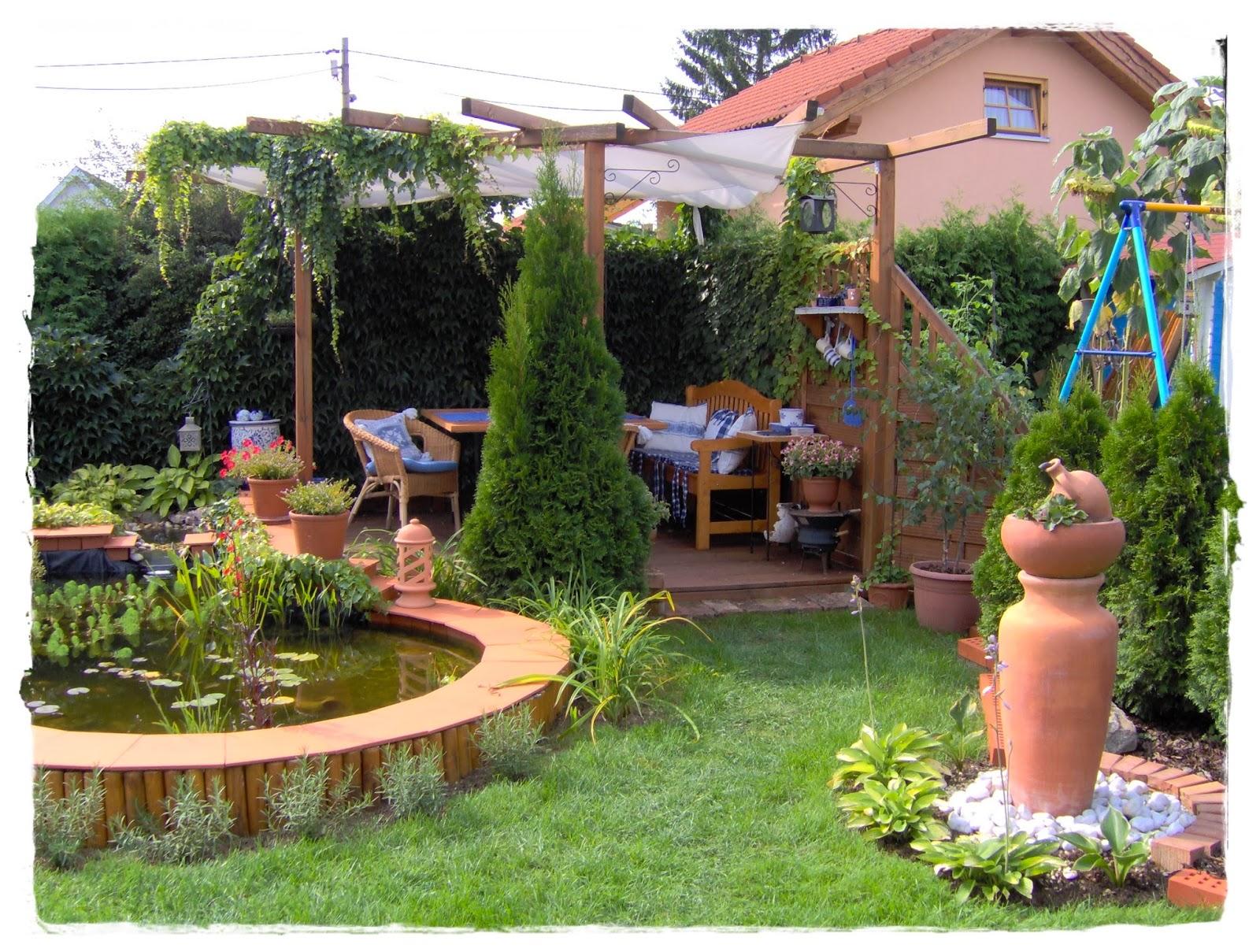 Inspirierend Kleinen Garten Gestalten Vorher Nachher Ideen