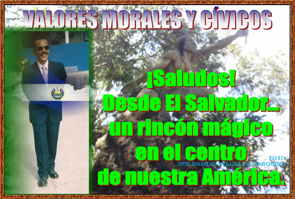 VALORES MORALES Y CVICOS
