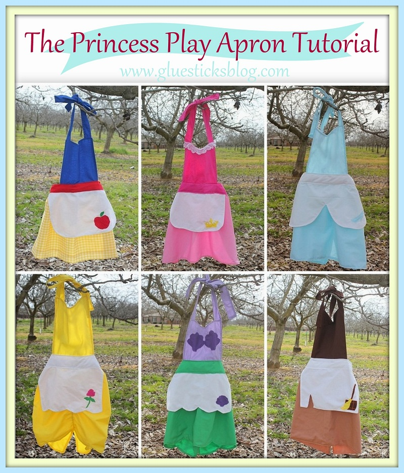 Free Costume Pattern: Princess Aprons