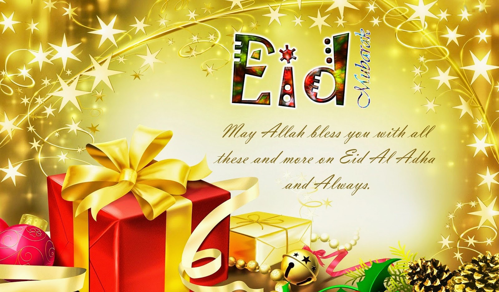 Eid Mubarak 2014 HD Wallpapers