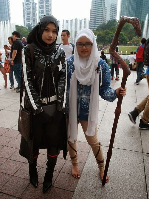 Black Rock Shooter versi Hijab