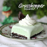 Minty Grasshopper Squares