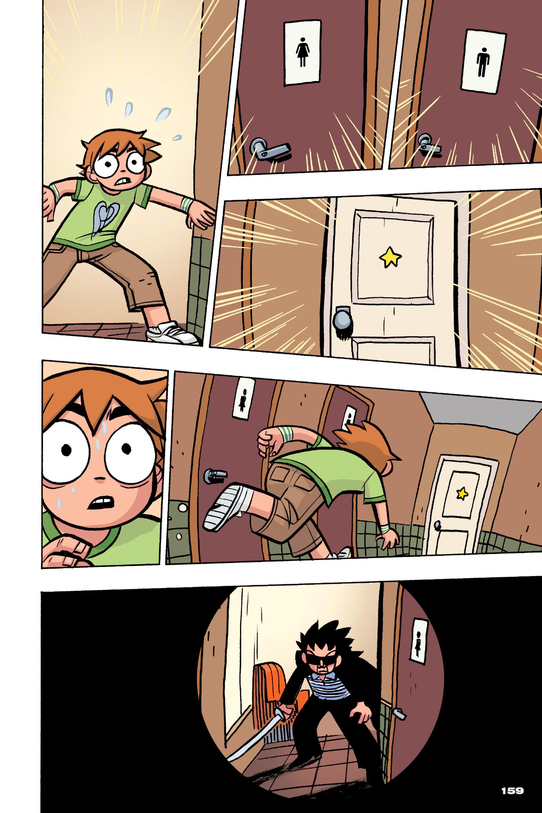 Read online Scott Pilgrim comic -  Issue #4 - 156