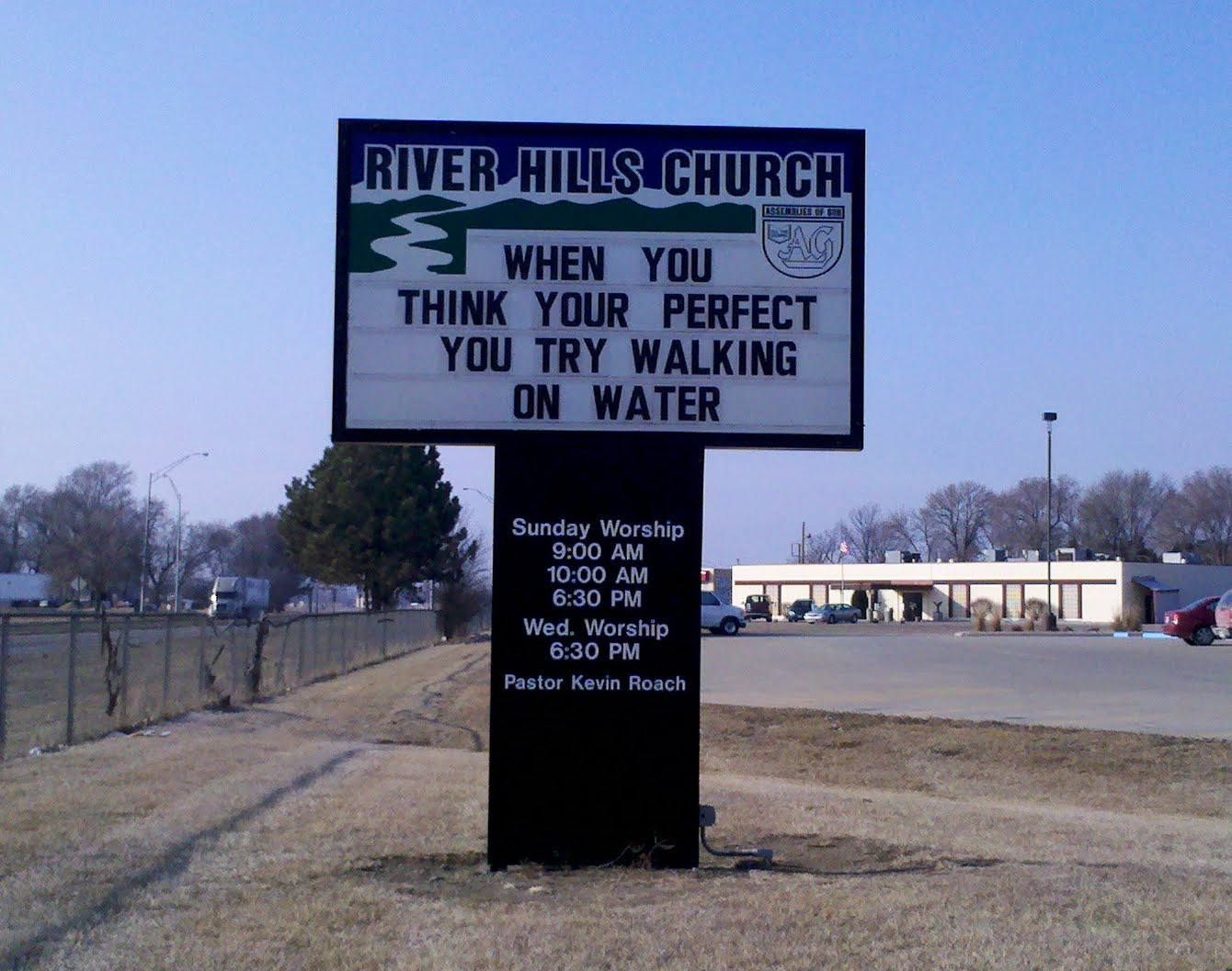 Church Sign Quotes The Gallery Of The Absurd