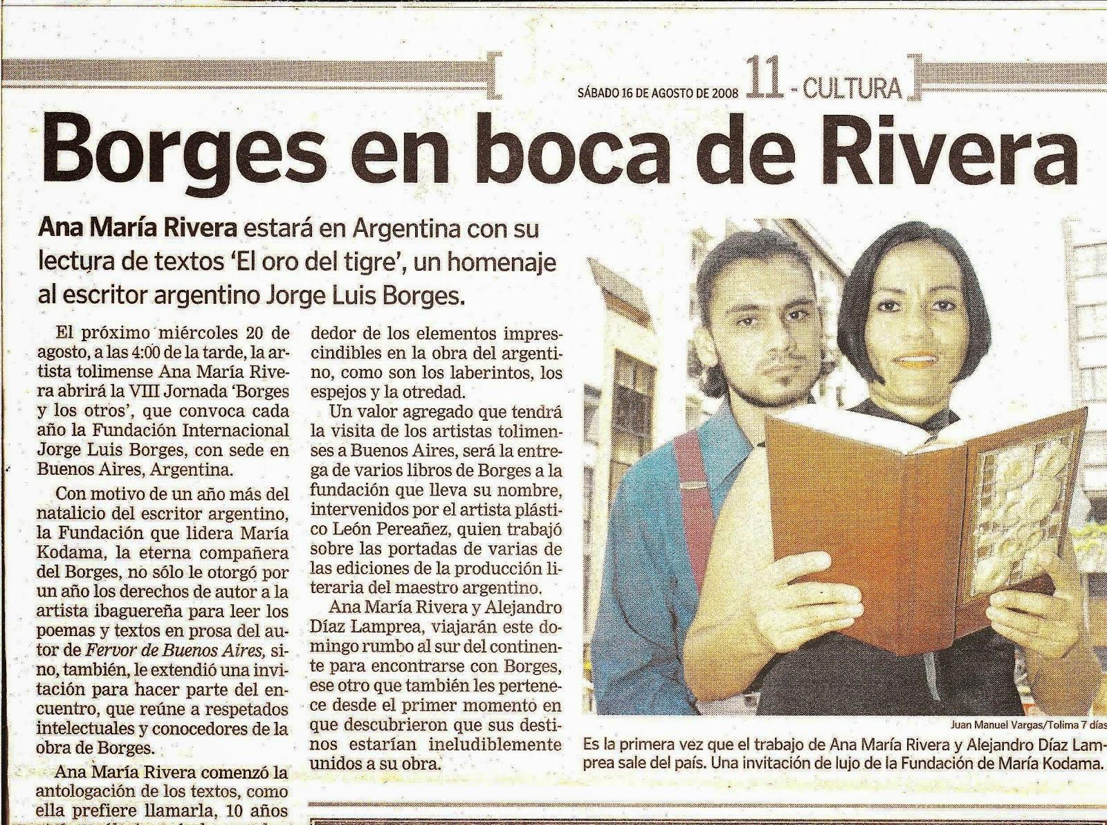 Borges en Boca de Rivera