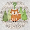 what does the fox say ylvis cross stitch chart