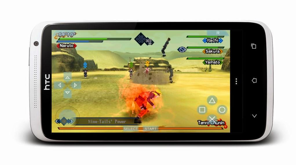 Cara Setting dan Bermain PS2 atau PSP di Android