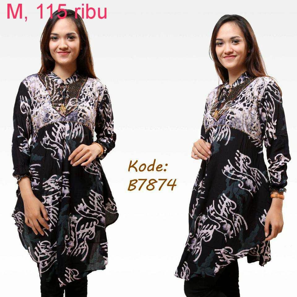 Baju Batik Model Baru Model Baju Batik