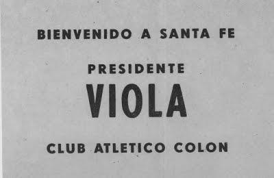 Colón Viola Dictadura