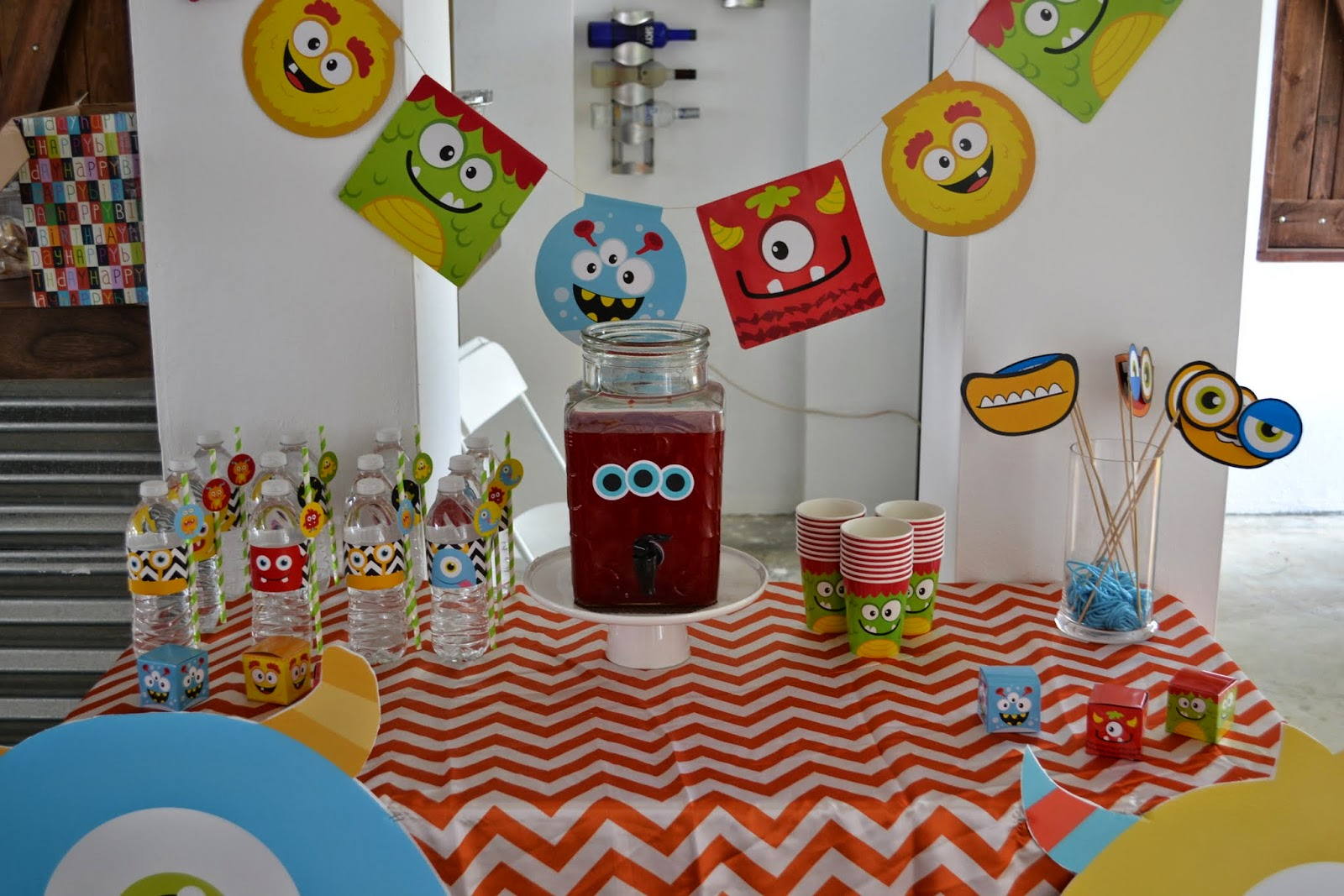 partylicious events pr little monster birthday bash