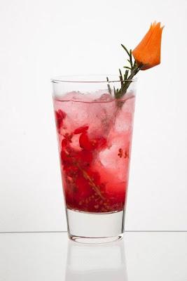 "IBS 2012 COCKTAIL GAGNANT MEDAILLE D'OR  ""La vie en rose"""