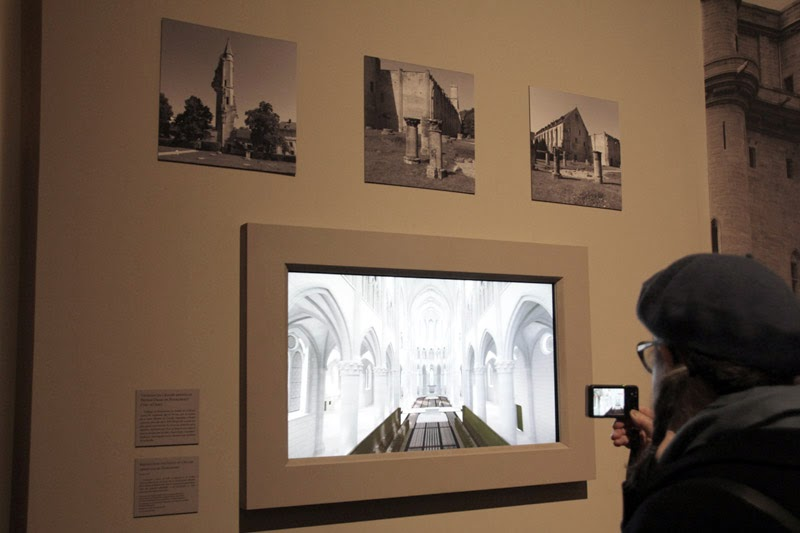 L'exposition Saint Louis à la Conciergerie - Abbaye de Royaumont 3D