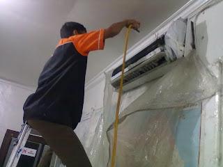 Service cuci ac Jaya maspion permata