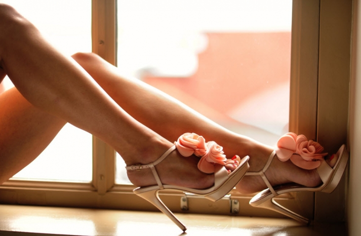 Nicely Option Of Bridal Shoes Coral Ruffles