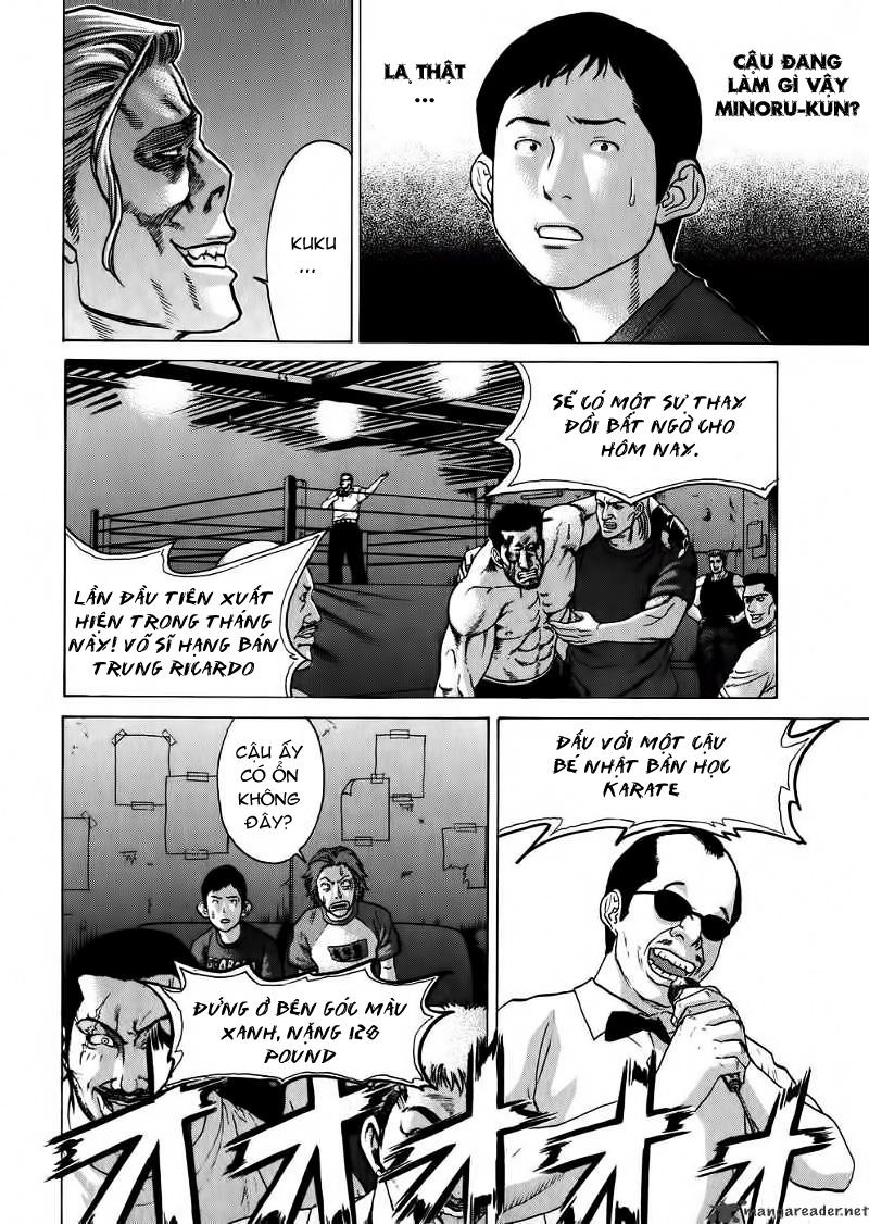 Karate Shoukoushi Kohinata Minoru chap 57 Trang 12