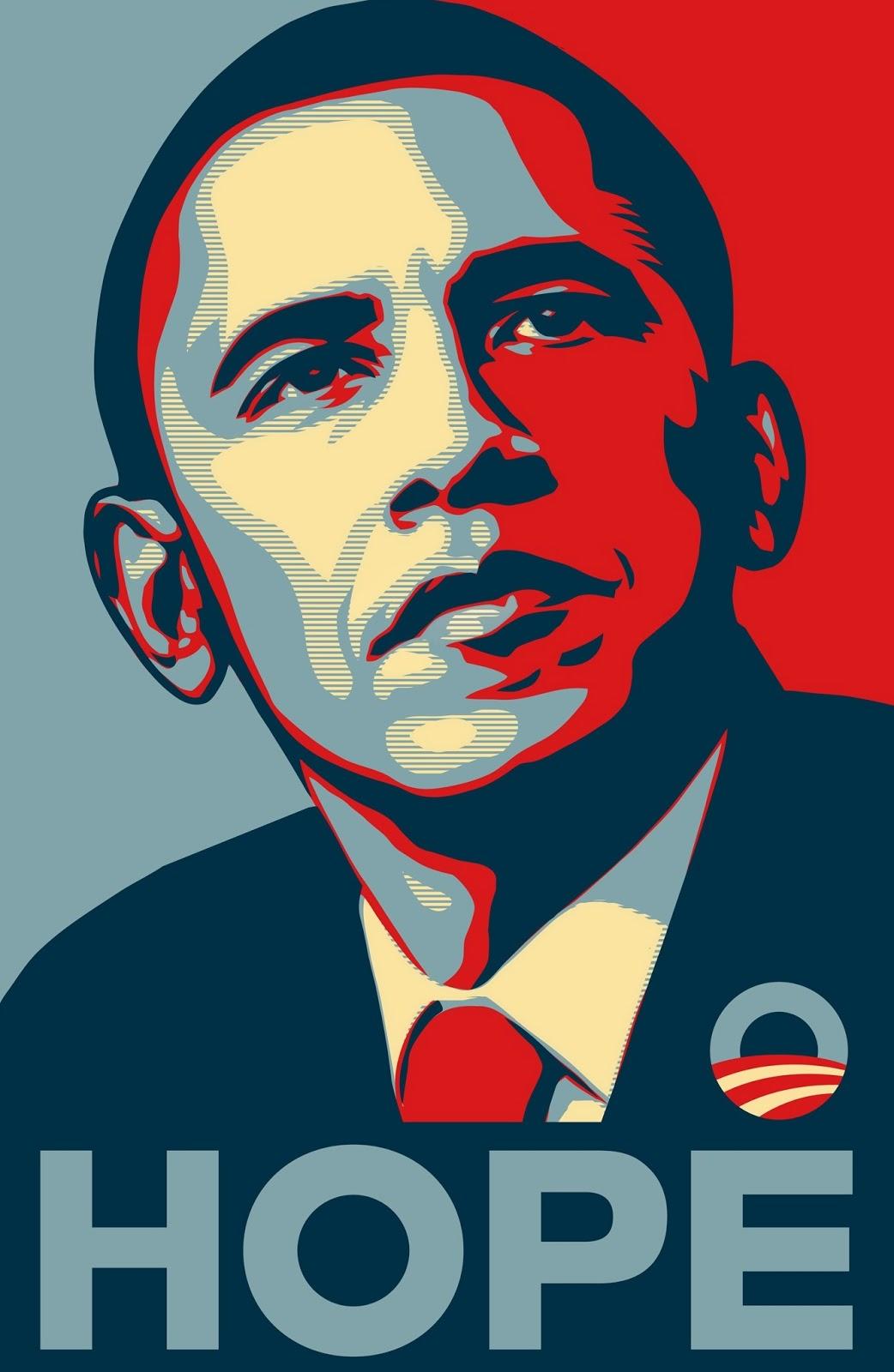 Barack Obama: Hope.