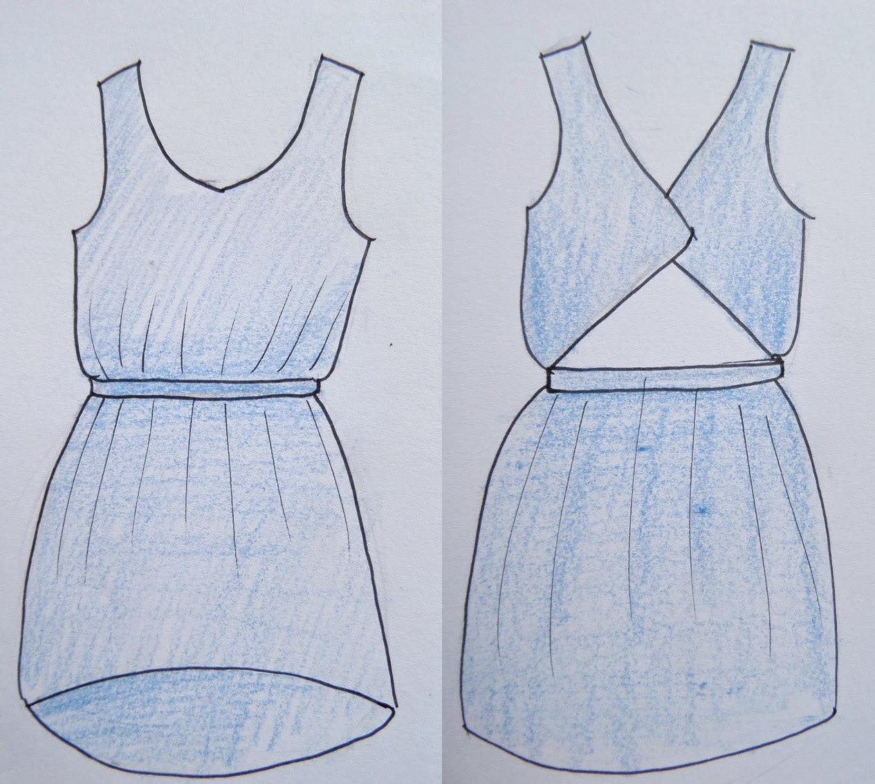 [Nähen] WIP -  Chiffon Kleid