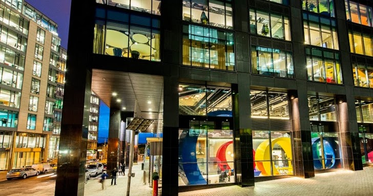 Inside Of Google Office In Dublin The Architectural