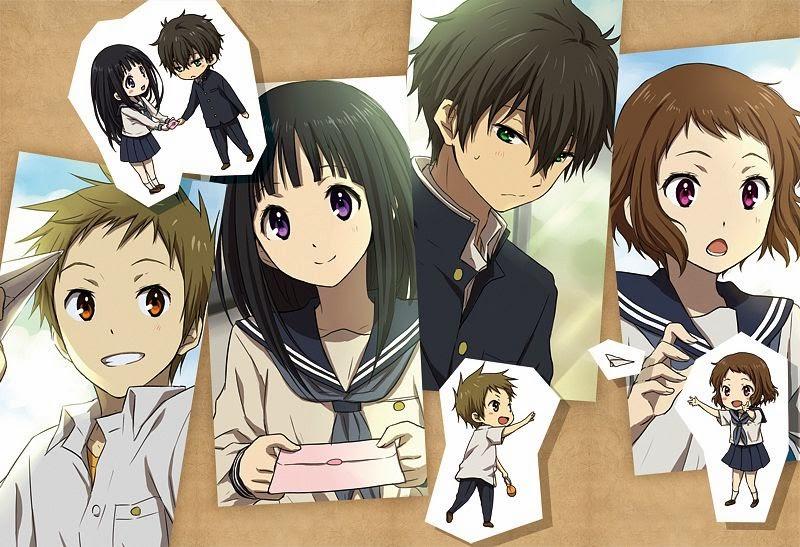 hyouka anime manga misterio humor