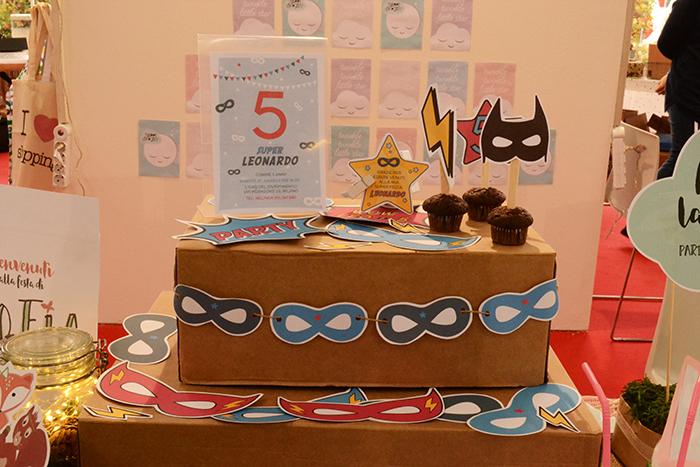 kit festa supereroi