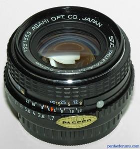 Pentax M 50mm f/1.7