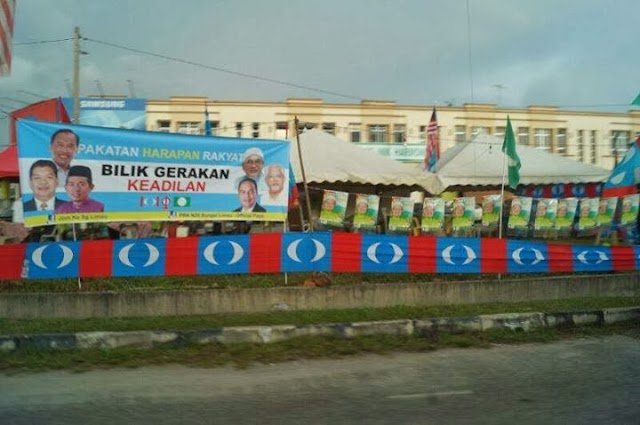 PRK Sungai Limau : PAS disabotaj PKR/DAP.