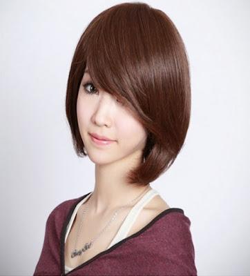 Model Rambut Sebahu Ala Wanita Korea
