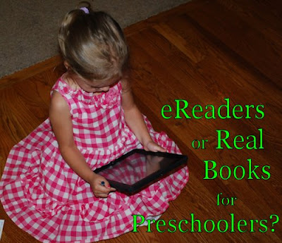 Pros and Cons of eReaders for Preschool Children