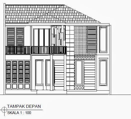 jasa desain rumah murah jasa desain gambar tampak depan
