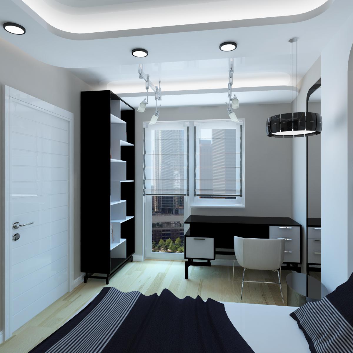 Хай тек дизайн квартиры фото
